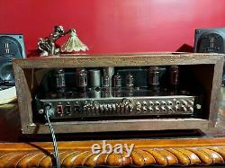 McIntosh MA 230 Vintage Tube Integrated Amplifier With Walnut Case