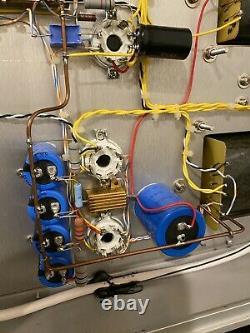 Melton EL34 integrated tube amp 40 watt. Push Ball 4-16 Ohms LS3/5A Dynaudio