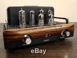 Music Angel MENG MINI L1 6P1 HD 6AQ5 Hi-End Vacuum Tube Integrated Amplifier NEW