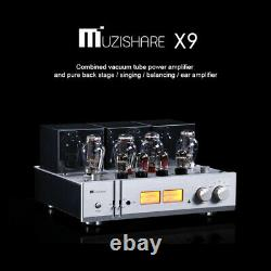 Muzishare X9 HiFi 300B Pure Integrated Lamp Balanced Vacuum Tube Power Amplifier