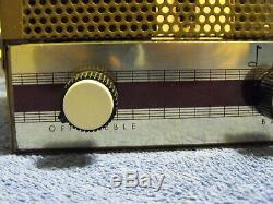 Nice Pair Boulevard 5T-17 Mono Tube Integrated Amplifiers EL84 12AX7 EZ81