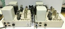 Pair Electro Voice A-20C Integrated Tube Amplifiers Excellent Cosmetics Conditio