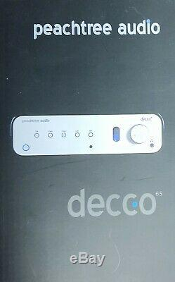 Peachtree Audio Decco 65 Hybrid Vacuum Tube / Solid State Integrated Amplifier D