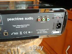 Peachtree Audio Decco Hybrid Vacuum Tube/SS Integrated Amp DAC. Mint with Box