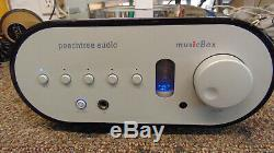 Peachtree audio musicbox hybrid tube ipod unit, NICE