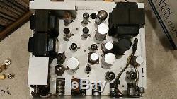 Pilot SM-244 Tube Integrated Amp using EL84 6BQ5 output tubes