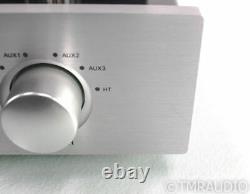 PrimaLuna DiaLogue Premium Stereo Tube Integrated Amplifier Silver Remote
