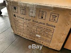 PrimaLuna EVO 400 Integrated Amp Approx 100 hrs on tubes All boxes and remote