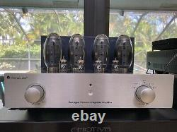 PrimaLuna Prologue Premium Stereo Tube Integrated Amplifier With Extra Tubes
