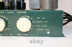 RARE VTG Bogen PH10-1 Multi-Range Mono Integrated Tube Amplifier WORKING