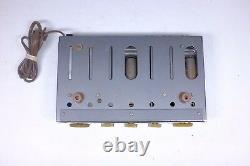 RARE! Vintage Sonotone Hfa-150 Audiophile Tube Mono Integrated Amplifier works