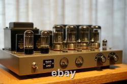 Raphaelite CP65 (6550) push-pull tube amplifier