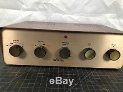 Rare 1950's Radio Craftsmen Concerto Model CA-11 Tube Mono Integrated Amplifier