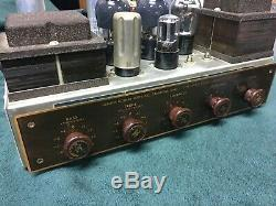 Rare H. H. Scott 210B 210-B Dynaural Tube Power Amplifier Excellent Example