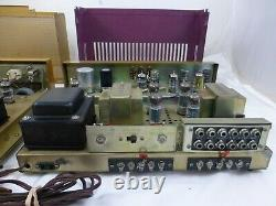 Realistic SAF-24B Tube Integrated Amplifier & Realistic TM 8 Tube Tuner WORK