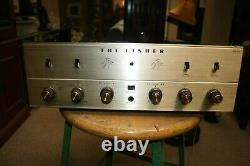 Recapped FISHER KX-100 Stereo Integrated Tube Amplifier