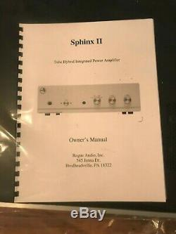 Rogue Audio Sphinx V2 Tube Hybrid Amplifier with Remote Control