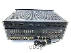 SANSUI AU-111 Integrated Stereo TUBE Amplifier 80WRMS Vintage 1965 Good Look