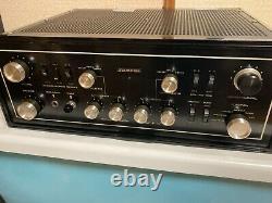 SANSUI AU-111 Vacuum Tube Integrated Amplifier AC100V/117V/240V 50Hz/60Hz Japan
