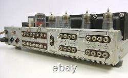 SCOTT Stereomaster 222-D / 222d Integrated Stereo TUBE Amp AMPLIFIER Orig 12AX7