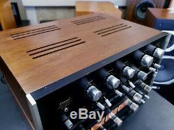 Sansui AU-555A Integrated Amplifier Amazing Tube Sound 100,120,220,240V