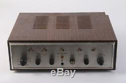 Scott 200-B Stereomaster Home Audio Tube Integrated Stereo Amplifier AS IS
