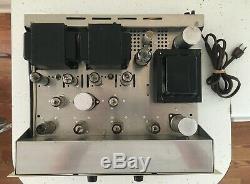 Scott 222C Integrated Stereo Tube Amp, Works Great! Read Description