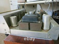 Scott 222b Stereo Tube Integrated Amplifier Working Very Good