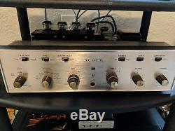 Scott 233 Stereomaster integrated stereo tube amp amplifier 1964/66 Free Ship