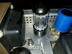 Scott 299A Early Tube Integrated Amplifier Tested to Power On