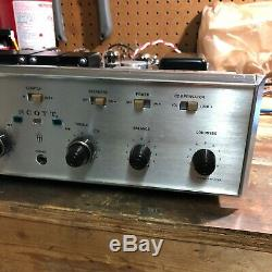 Scott 299D Early Tube Integrated Amplifier