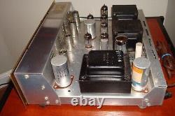 Scott LK-48 Tube Integrated Amplifier (Cherry Mahogany Cabinet available)