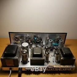 Serviced Vintage Heathkit SA-2 stereo tube integrated amplifier EL84 6BQ5