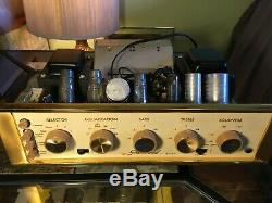 Sherwood S-1060 Sixty Tube Integrated Amplifiers (one pair)
