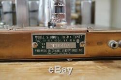 Sherwood S-5000 II integrated tube amp + S-3000V tube tuner