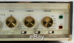 Sherwood S-5500 50 Watt Stereo Integrated Amplifier Tube Amp No Tubes