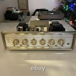 Sherwood S-5500 II Stereo Tube Integrated Amplifier POWERS UP. NO TESTING DONE