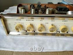 Sherwood S-5500 Stereo Tube Integrated Amplifier-XLNT Cond. Parts//Repair. USA