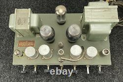 Stromberg Carlson Custom 400 Integrated Amplifier Tube Amp With Tubes