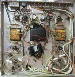 Stromberg-carlson Asr-433 Stereo 24 Integrated Tube Amp (6bq5) Mullard