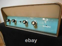 Super Clean Knight KN3032 amplifier vintage tube amp untested