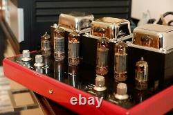 Synthesis Italian Integrated Amplifier, EL84 Vacuum tube, 12AX7, Ferrari Red