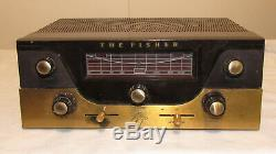 The Fisher CA-40 mono Tube Integrated Amplifier