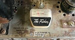 The Fisher KX-200 StrataKit tube amplifier