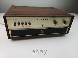 The Fisher X-101-C Vacuum Tube Integrated Amplifier immaculate with box