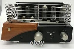UNISON RESEARCH S6 Tube Integrated Amplifier, 35wpc Class A, Wth Wooden Remote