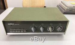 Ultra Rare Revox 40 Integrated Stereo Tube Amplifier Restored First Series Used