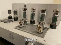 Used Melton EL34 integrated tube amplifier 40 watt. Push Ball