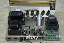 Vintage 60's SHERWOOD Integrated Amplifier Stereo Tube S-5000 Rare O