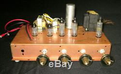 Vintage'60's Westinghouse Single-Ended 6BQ5 / 12AX7 Stereo Tube Amp / Preamp